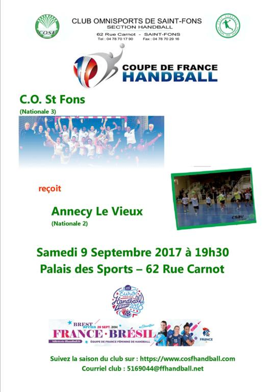1er Tour de la Coupe de France Féminines